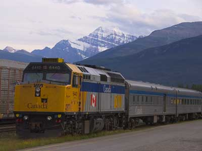 Railfanning the CN in Canada 2007
