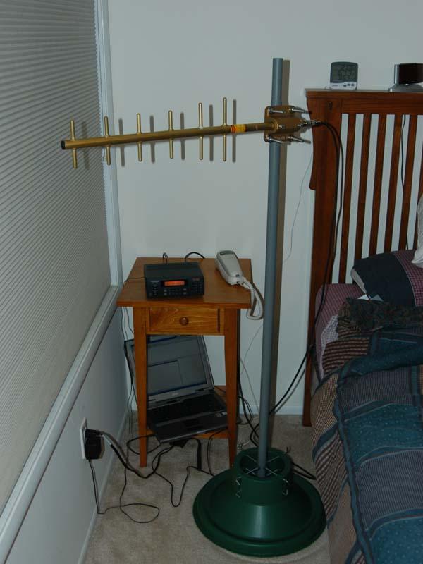 Testing My New Ebay Acquired Antenex Yagi For Atcs