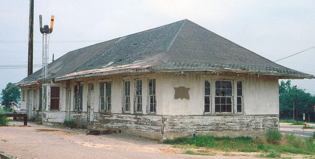 Rock Island Station Bridgeport Tx June 1980